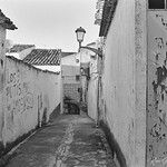A narrow back-street passage - Alcaudete