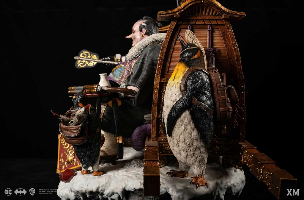 XM Studios DC Batman Samurai系列【企鵝大名】The Penguin Daimyo 1/4比例全身雕像