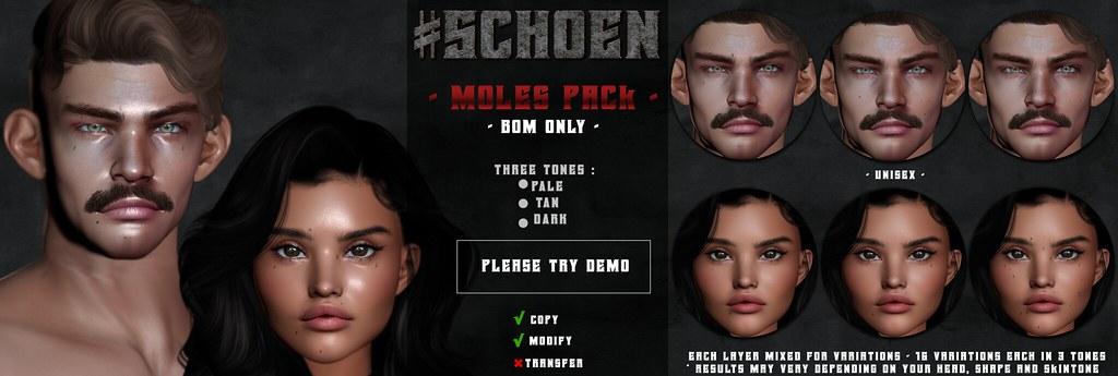 #SCHOEN –  Moles Pack