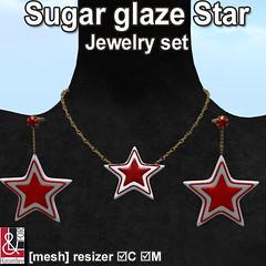 Sugar glaze star Jewelry Set PIC