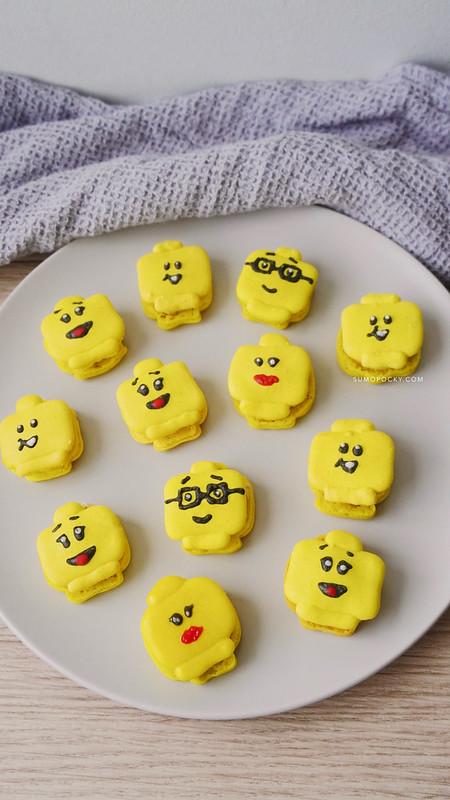 LEGO Macarons Recipe