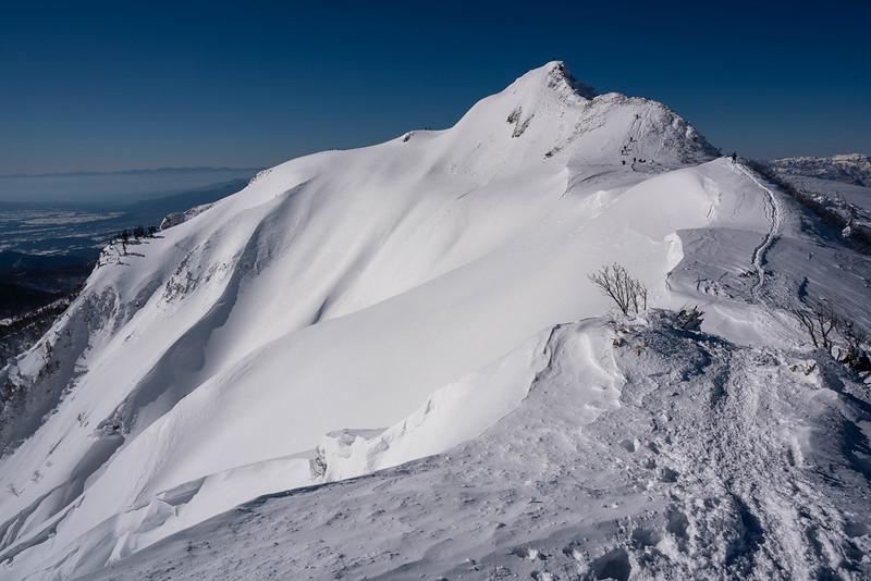 武尊山の剣ヶ峰山