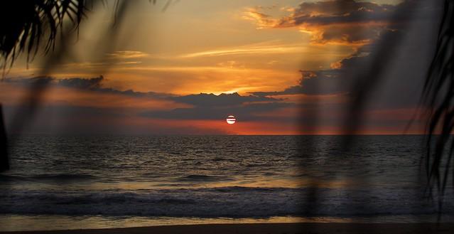 Wonderful Beach Sunset