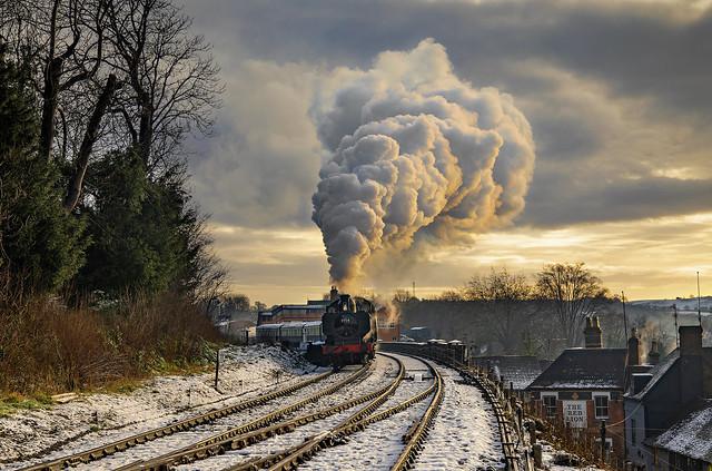 Departing Platform 3