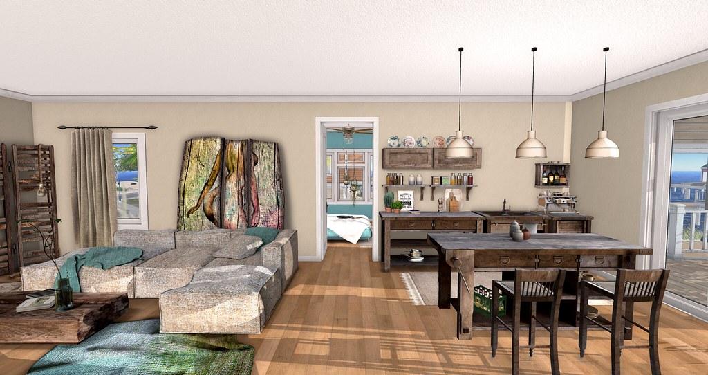 Havana Livingroom & Kitchen