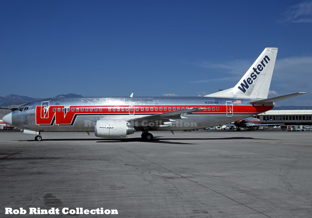 Western Airlines B737-347 N306WA