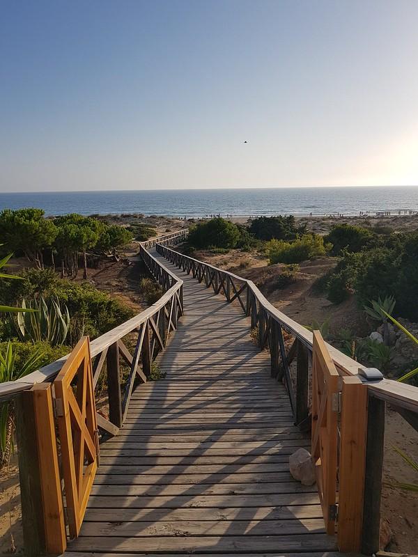 Playa de Roche. Chiclana, Cádiz.