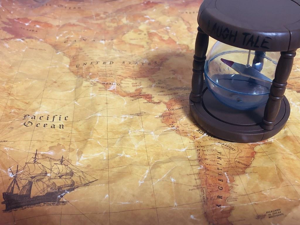 GASHAPON《航海王》「ONE PIECE 永久指針」環保轉蛋