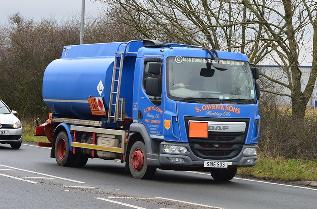 S Owen SO15 SOS On The A5 At Oswestry