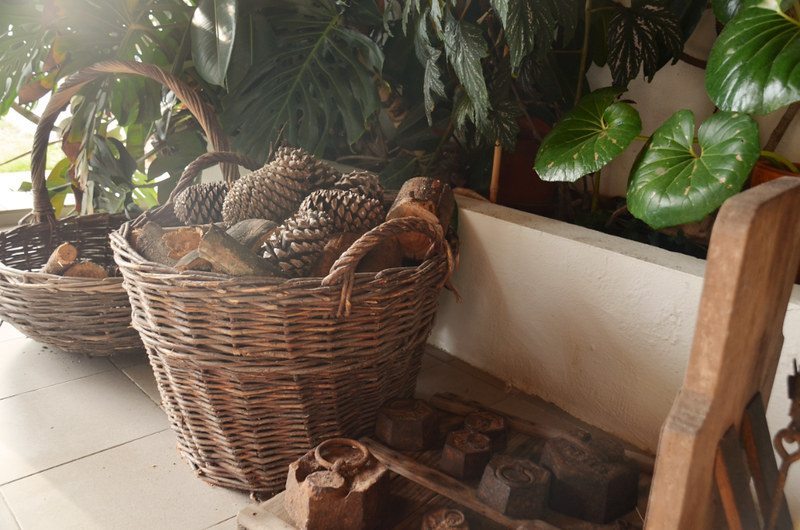 Our wood basket