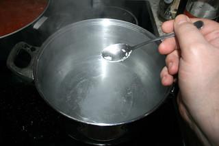 25 - Salt water / Wasser salzen