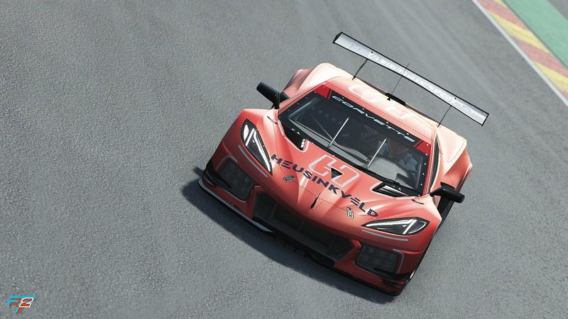 rFactor 2 Corvette C8R
