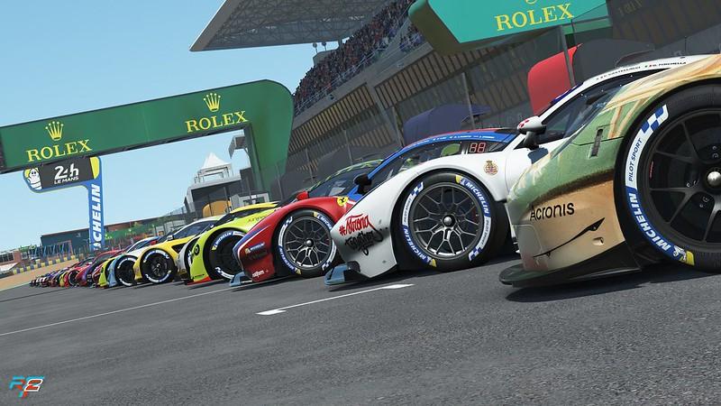 rF2 Le Mans 24 Hour Virtual