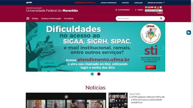 Novo Portal da UFMA 2021 (1)