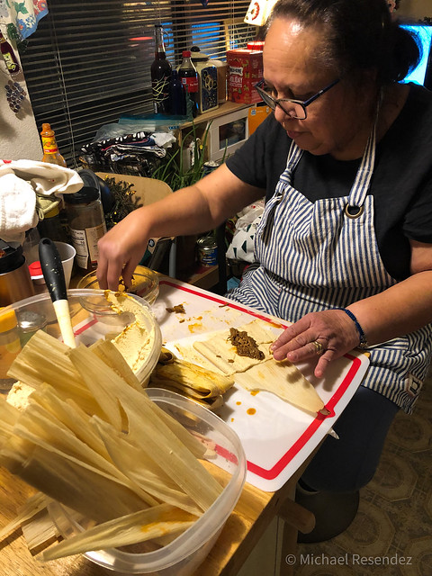 My Tamale Queen at work