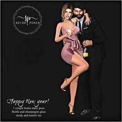 Secret Poses - happy New Year!