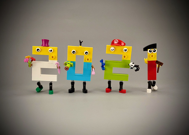My Lego Happy New Year 2021