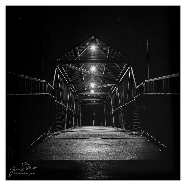 Pedestrian Overpass at Night (film)