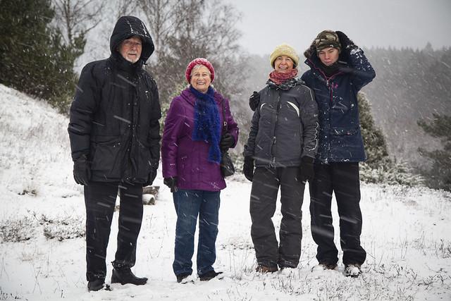 Den snöiga dagen 2020, Vada sjökullar