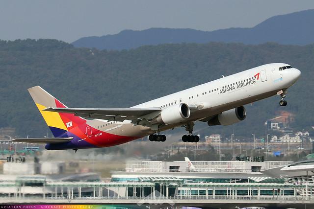 HL7248  -  Boeing 767-38E  -  Asiana  -  ICN/RKSI 6/10/19