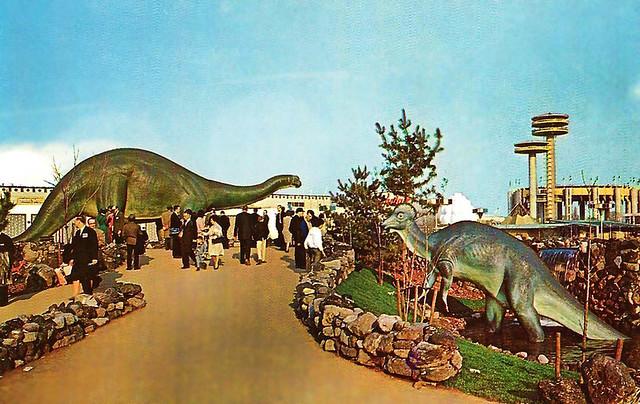 Sinclair Dinoland -- 1964 New York World's Fair