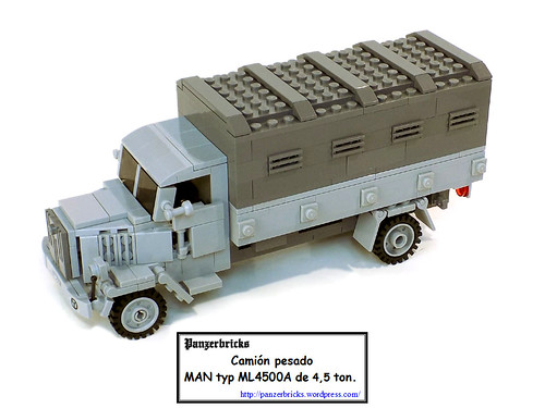 Lkw MAN ML 4500A de Panzerbricks