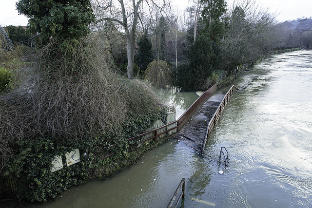 Flooding at Goring-on-Thames