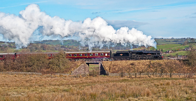 steam in the staffordshire moorlands