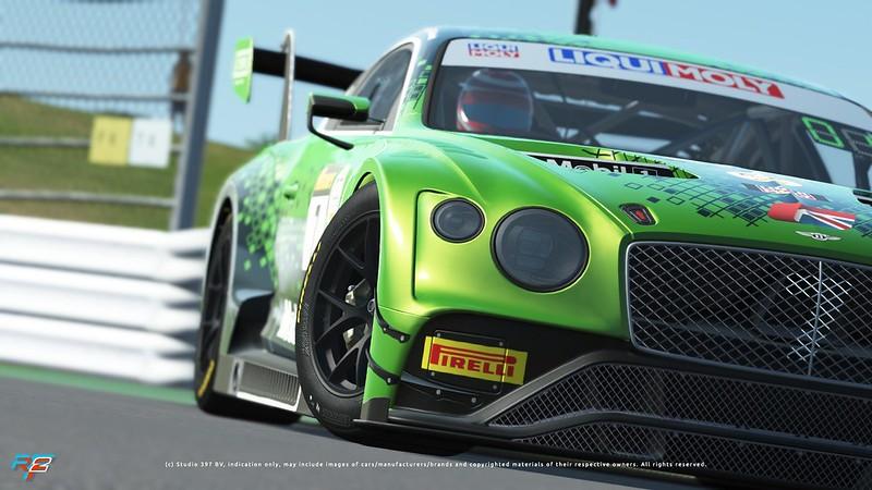 rF2 2020 Bentley GT3
