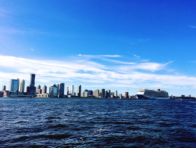 Cruise on the Hudson.