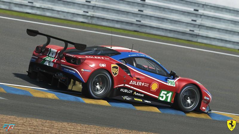 rF2 Ferrari 488 GT3 EVO