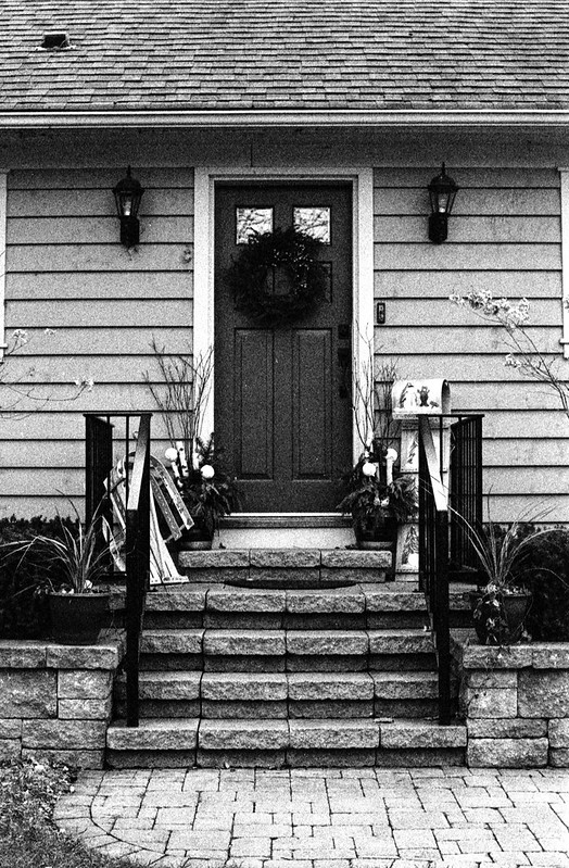 Decked Out Front Porch