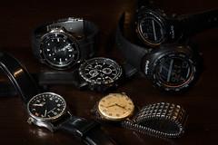 Bodegón relojes