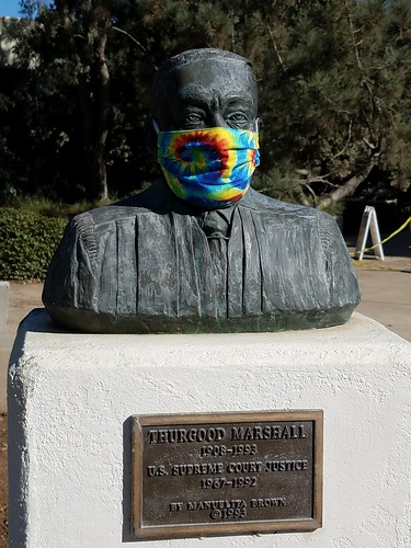 Thurgood Marshall Statue - UCSD