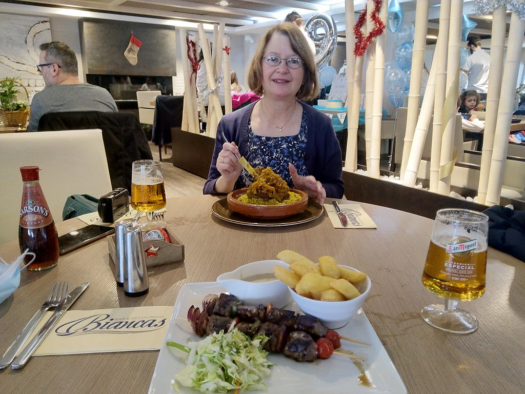Lunch, Biancas's Marina Bay, GIbraltar