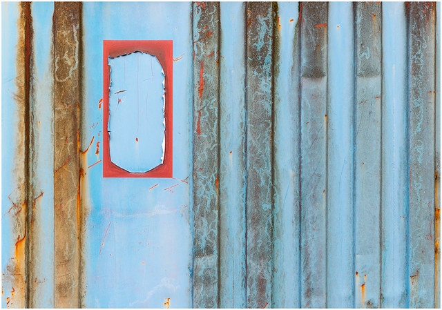 Rust and Red on Blue, Glasgow-2