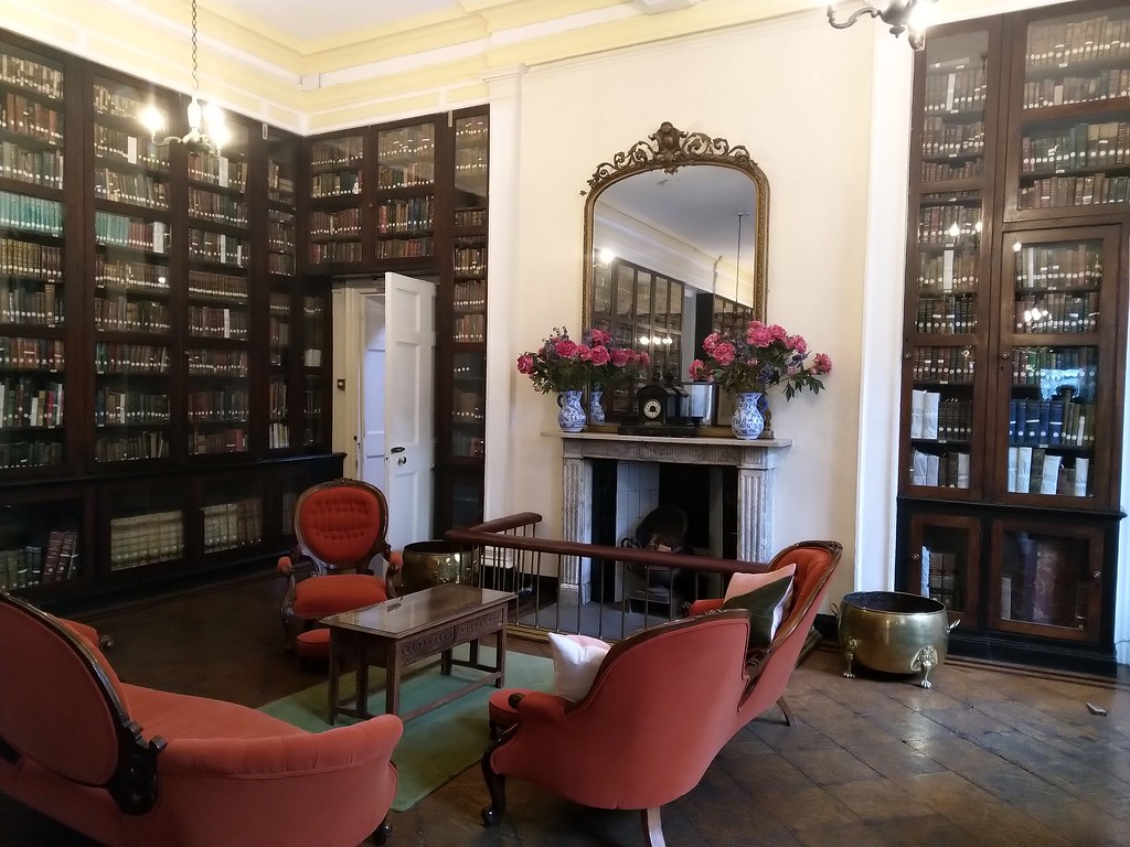 Inside the Gibraltar Garrison Library