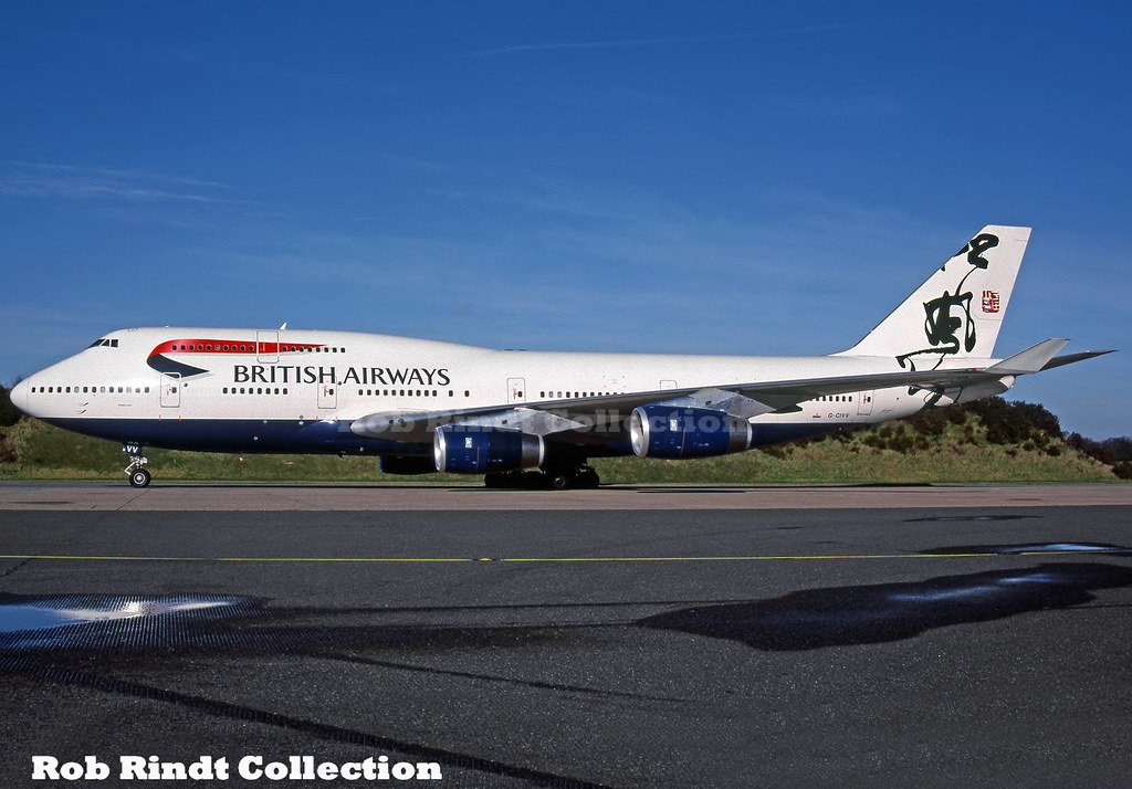 British Airways B747-436 G-CIVV