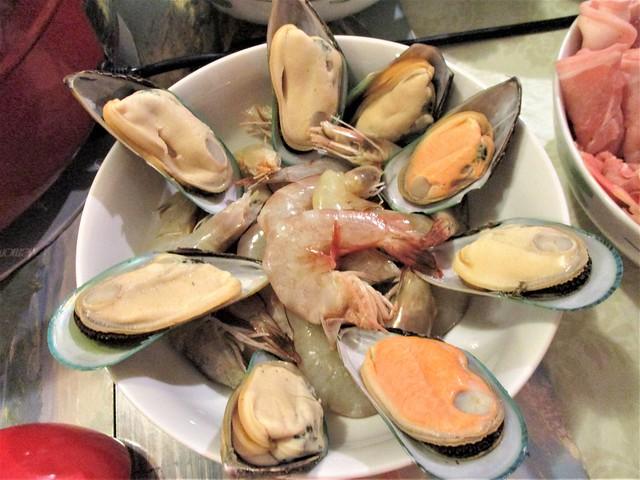 Prawns & mussels