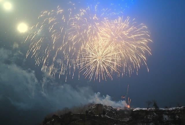 Through the Smoke -- Happy New Year 2021 !