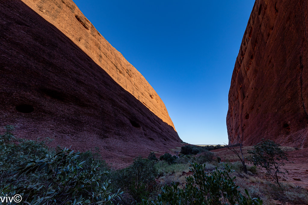 Picturesque Walpa Gorge surrounds, The Olgas, Uluru, Northern Territory, Australia