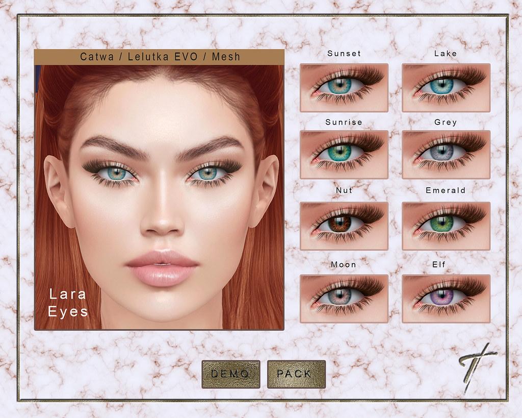 Tville – Lara Eyes *fatpack*
