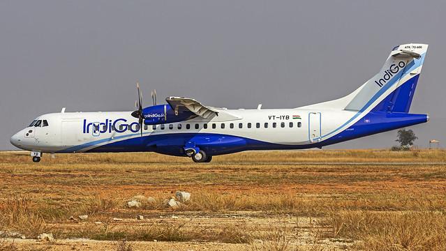 Indigo ATR72 VT-IYB Bangalore (BLR/VOBL)