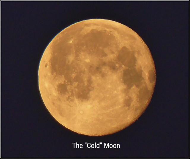 The Last Full Moon of 2020 ..