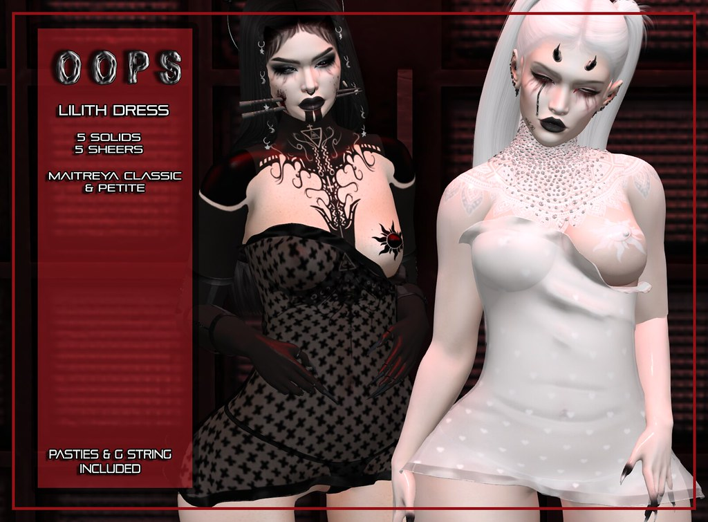 ::OOPS:: Lilith Dress