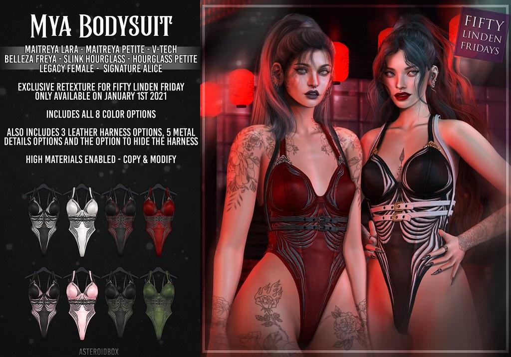 AsteroidBox. Mya Bodysuit – FLF Exclusive Version
