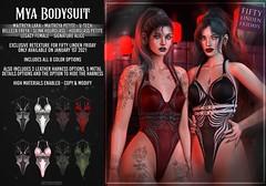 AsteroidBox. Mya Bodysuit - FLF Exclusive Version
