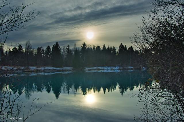 Winterliche Stimmung am Auensee Explored Jan 1  2021