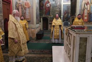 01.01.2021 | Божественная литургия в Иверском монастыре
