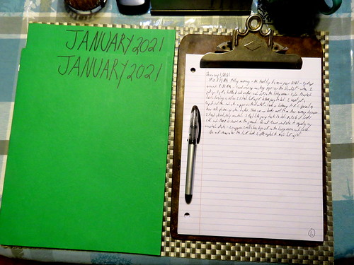 January 2021 Diary
